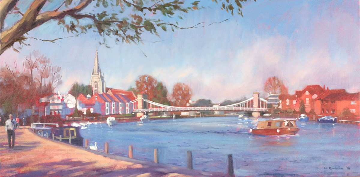 Marlow Bridge, Spring Light